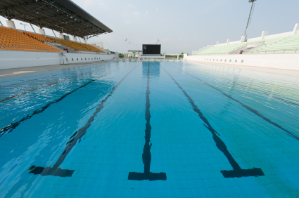 Swimming pool for workouts