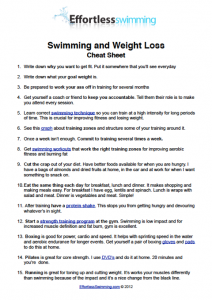 Swimming Workout Plan For Fat Loss Eoua Blog