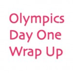 Olympics Day One Swimming Wrap Up