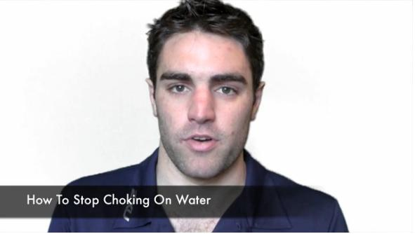 How to Stop Choking on Water