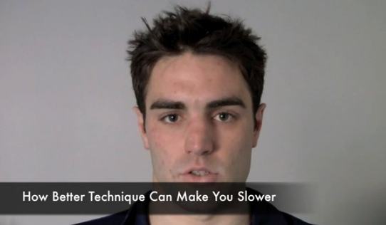 How Better Technique Can Make You Slower