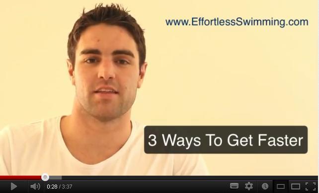 3 Ways To Swim Faster