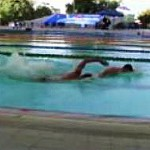 Open Water Swimming: Find Feet & Hang On