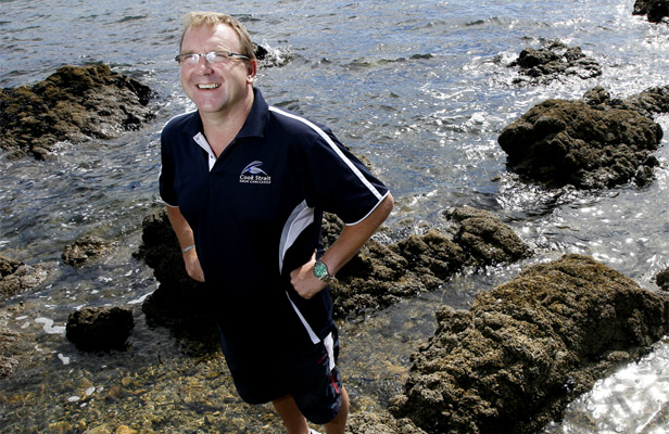 English Channel and Cook Strait Legend Philip Rush