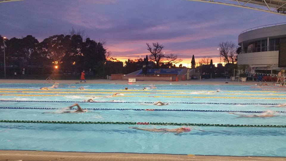 Melbourne SPorts and Aquatic Centre Outdoor pool