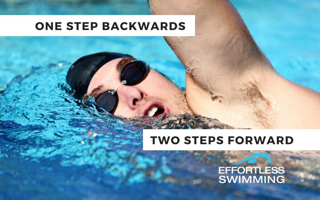 One Step Backward, Two Steps Forward