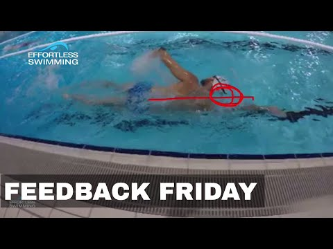 Keep Your Head Here To Stop Your Legs From Splaying   Swimming Tip   Alignment