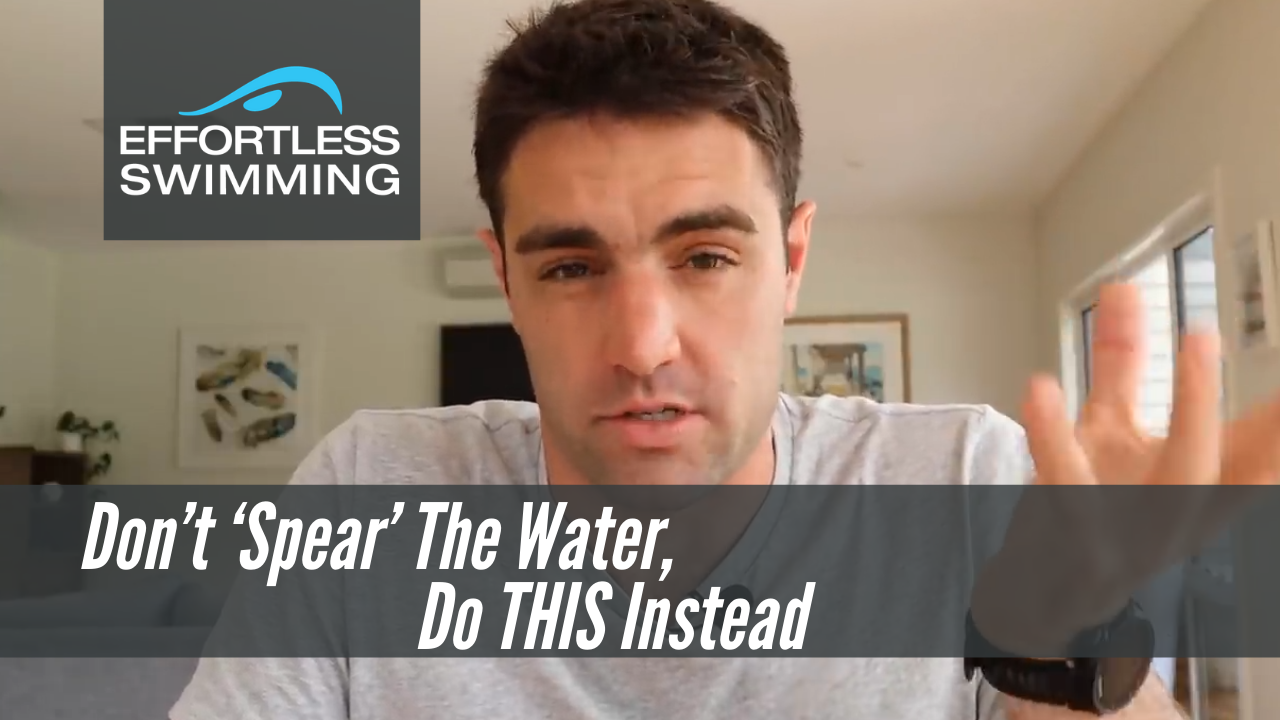 Don't 'Spear' The Water, Do THIS Instead