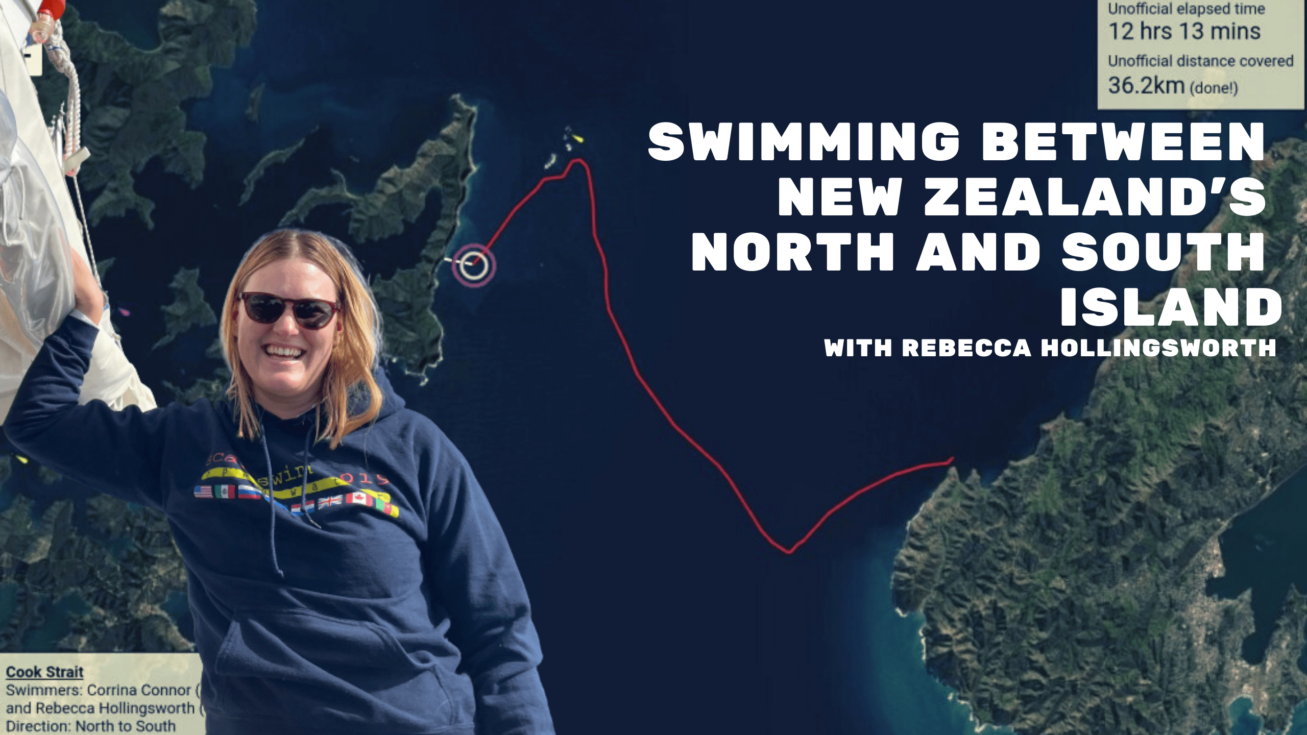 Swimming Between New Zealand's North And South Island With Rebecca Hollingsworth