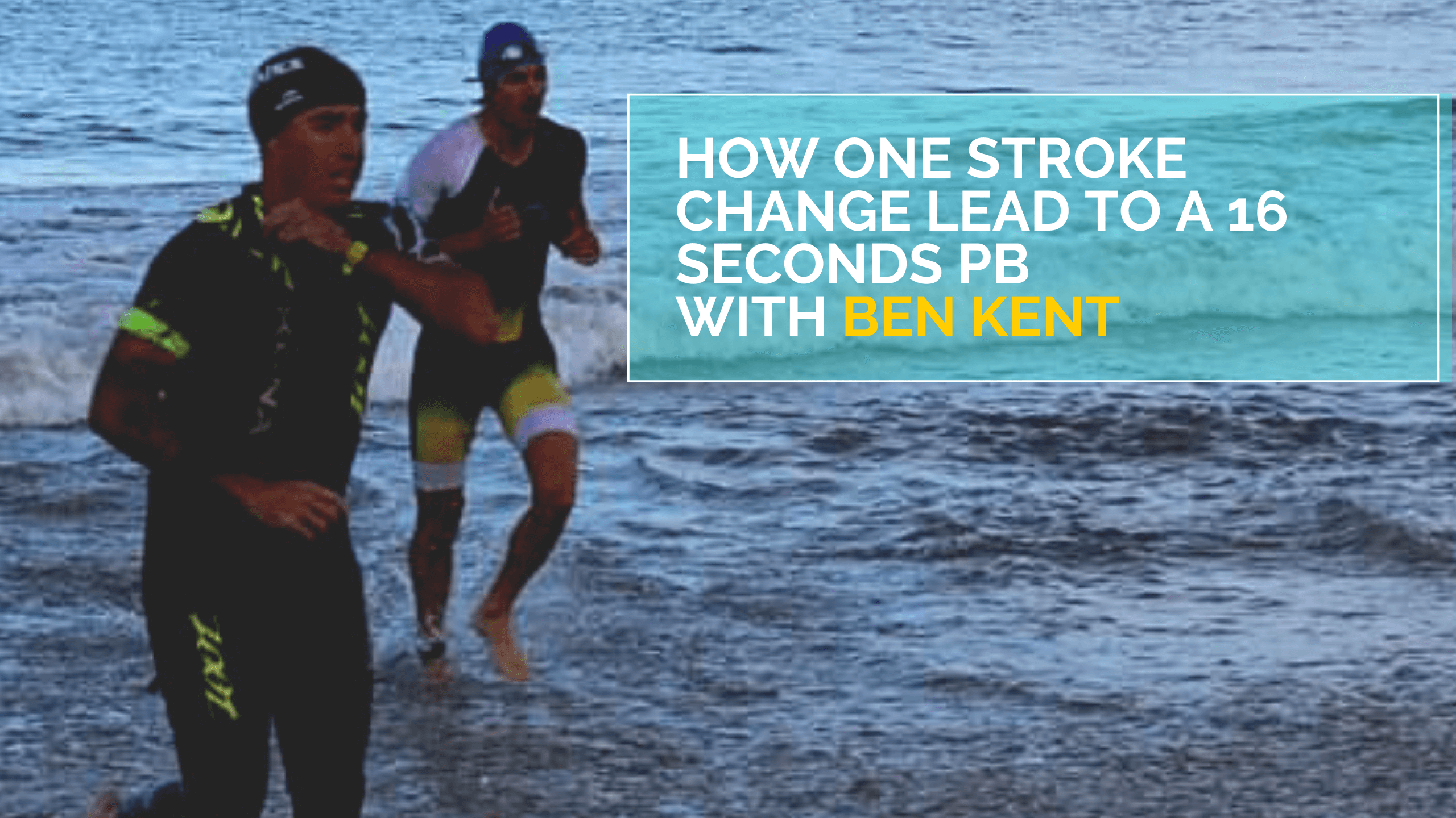 How One Stroke Change Lead To A 16 Seconds PB with Ben Kent